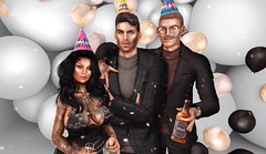 Birthday Stuff (XaddyIG) Tags: second life secondlife online belleza blogger jake sl imvu virtual bento events catwa birthday party clothes pants suits hats balloon
