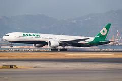 EVA AIR B777-300ER B-16729 001 (A.S. Kevin N.V.M.M. Chung) Tags: aviation aircraft aeroplane airport airlines apron plane spotting airside ramp hkg boeing b777 b777300er worldliner evaair