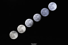Penumbral lunar eclipse (Francesca Murroni ┃Wildlife Photographer) Tags: penumbrallunareclipse moon eclipse sky night fullmoon luna astrophotography sardegna sulcis italy