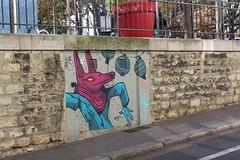 Retro_6959 rue du Moulin des Prés Paris 13 (meuh1246) Tags: streetart paris animaux retro ruedumoulindesprés paris13 masque butteauxcailles lézartsdelabièvre2019