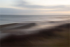 day in January......Sylt 2020 (Brigitte Lorenz) Tags: seascape abstract winter water mood silent icm soft impressionism nature