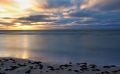 The Baltic Sea. Sunset. (Jan 11, 2020) (ms.gulbis) Tags: balticsea beach sunset seashore seascape seaside clouds sky sun water waves winter long exposure nd filter