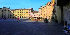 Lucca (carlocorv1) Tags: piazza anello case colori città toscana