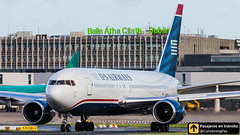 Boeing B767 US Airways N249AU (ConnectingPax) Tags: airplane airplanes aircraft airport aviation aviones aviación boeing 767 b767 us usairways taxiing takeoff departure dublin dub ireland eidw spotting spotters spotter planes canon closeup