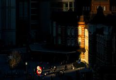 Sunbeam (tokyobogue) Tags: tokyo japan marunouchi tokyostation nikon nikond7100 d7100 goldenhour dusk tokina tokina100mmf28atxprod chiaroscuro