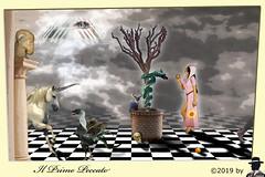 PRIMO PECCATO (ADRIANO ART FOR PASSION) Tags: peccato photoshop mediovalismo medioevo fotomontaggio unicorno eva adamo mela basilisco serpente serpentedrago surrealismo universoparallelo dimensineparallela pozzo colonna capra gatto demonietto piramide occhio adrianoartforpassion photoshopcreativo
