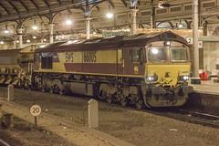 EWS Class 66 66005 (Rob390029) Tags: ews class 66 66005 newcastle central railway station ncl
