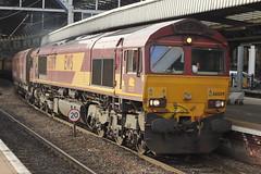 EWS Class 66 66009 (Rob390029) Tags: ews class 66 66009 newcastle central railway station ncl