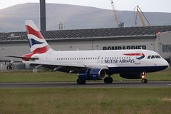 British Airways G-EUPY BHD 09/05/19 (ethana23) Tags: planes planespotting aviation avgeek aircraft aeroplane airplane airbus a319 ba britishairways speedbird