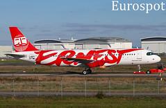 F-WWBZ Airbus A320 Neo Ernest (@Eurospot) Tags: fwwbz airbus a320 neo ernest 9528 toulouse blagnac eijak