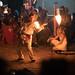 Torch juggler at a Medieval reenactment event