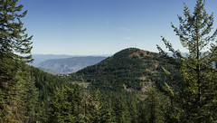 Red Mountain through the Trees (JeffAmantea) Tags: red mountain rossland range west kootenays bc british columbia canada trees mountains hills ski hill mine mining panorama high resolution hd hiking hike outdoors outside landscape sonyalpha sony alpha a7ii mirrorless emount metabones nikon nikkor 50mm f14