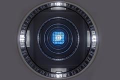 HAL 9000.1. (Elbmaedchen) Tags: hal staircase treppenhaus kuppel escaliers escaleras esplanadebau hamburg kreisrund geländer kontorhaus ringe interior upanddownstairs architektur architecture roundandround