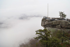 Deserted View 2643 (casch52) Tags: park rock nature landscape cliff north carolina nc view chimney trees lake travel asheville mountain water outdoors landmark scenic chimneyrock northcarolina natural scene peak lure river granite beautiful mountains sky usa forest foliage summer appalachia scenery hike blueridgemountains chimneyrockpark environment ridge outside waterfall boulder americanflag place america hickorynutfalls woods clouds eos rp canon 24105f4llandscape