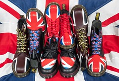 Dr Martens and the Union Jack. . . (CWhatPhotos) Tags: artistic art photographs photograph pics pictures pic picture image images foto fotos photography cwhatphotos that have which with contain olympus omd em1 mk ll micro four thirds 43 camera union jack boot boots pascal 1460 adult youth dm dms docs doc maten martens dr airwair bouncing sole yellow sttching red white blue color colour colors colours foot wear approach flickr thewho shoe tassle tassles who