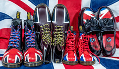 Dr Martens and the Union Jack. . . (CWhatPhotos) Tags: art artistic pics photographs photograph pictures that photography foto with image picture pic olympus images have fotos which contain omd em1 cwhatphotos camera youth jack four boot adult boots union micro pascal dm ll mk 43 thirds 1460 blue red white color colour yellow dr sole doc docs bouncing airwair martens dms maten sttching colors foot flickr colours wear approach shoe who thewho tassle tassles