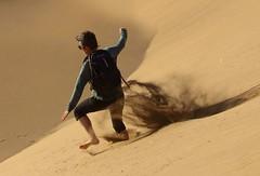 Sand runner..;) (Nora077) Tags: homok dúne sand dunes maspalomas spain grand canaria happy moment nora toth canon eos5d