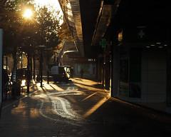 early morning clean up (Johnson Cameraface) Tags: 2019 october autumn olympus omde1 em1 micro43 meyeroptikgorlitzoreston 50mm m42 f18 manualfocus johnsoncameraface urban street doncaster southyorkshire