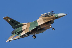 General Dynamics F-16C Fighting Falcon - 092 (NickJ 1972) Tags: redflag nellis air force base airbase afb 2019 aviation generaldynamics lockheed martin f16 fighting falcon viper 860299 wa aggressor