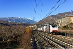 RTC 189 918 + 186 440 - Volargne (FabioMiottoPhoto.com) Tags: e189 189 br189 e186 186 br186 zebra rtc lokomotion lm rt rail traction company 43125 dgs tec treno ferrovia train railway bahn zug
