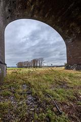 Looking through - Duisburg 2020-01-09 (~Mario~) Tags: bridge bridges duisburg clouds rain storm wind arch nrw germany deutschland