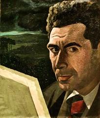 Self-Portrait (undated) - José Dominguez Alvavarez (1906-1942) (pedrosimoes7) Tags: josédominguezalvarez portrait portraiture selfportrait retrato caloustegulbenkianmuseum lisbon portugal