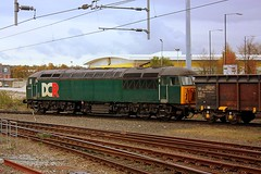 Grid at Norwich (Chris Baines) Tags: dcr 56303 norwich yard empty stone hoppers peak forest