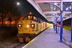 37099 t&t 37254 - Kings Lynn - 10/01/20. (TRphotography04) Tags: colas freight 37099 merl evans 1947 2016 37254 cardiff canton stand kings lynn 1q99 1623 cambridge recp 13 march down r test train network rail