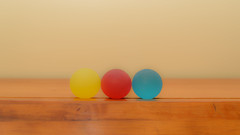 Yellow Red Blue (Maggggie) Tags: 120picturesin2020 starttheballrolling exercise balls yellow red blue
