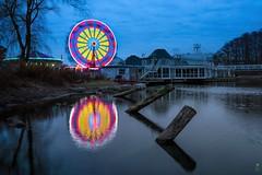 Aurora Winter Festival -Toronto (JACK TOME) Tags: toronto carnival rides water ontario lake dock