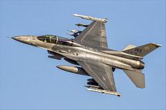 General Dynamics F-16DM Fighting Falcon - 28 (NickJ 1972) Tags: redflag nellis air force base airbase afb 2019 aviation generaldynamics lockheed martin f16 fighting falcon viper 910478 wa