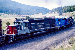 SP 8335 (steamfan1211) Tags: sd40t2 tunnelmotor southernpacific railroad trains locomotives