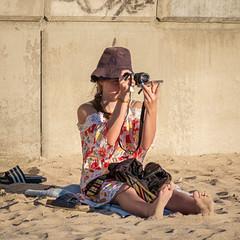 Experimental Photography (Steve Crane) Tags: helderberg southafrica strand westerncape beach girl people photographer woman women