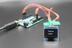 Display Text on an OLED (helathra25) Tags: fun learning coding arduino mechatronic projects