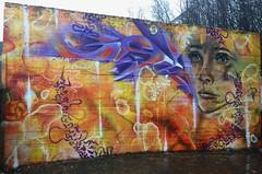 Laksevåg Graffiti 2019 (svennevenn) Tags: tegson rochihiro bishosevillano graffiti gatekunst streetart bergen