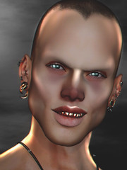 Bring On The Thunder ❗️😈 (Burak Ghosteffect) Tags: leggy stunneroriginals ghostfx tattoo eyes skin shape secondlife