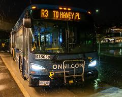 A RapidBus on R3 Pulls Up Thru the Rain at Coquitlam Central Station (AvgeekJoe) Tags: 18050 2019newflyerindustriesxde60 b18050 brt busrapidtransit d7500 dslr newflyerindustriesxde60 newflyerxde60 newflyerxcelsior nikon nikond7500 rapidbus translinkrapidbus translink xde60 bus masstransit night nightphoto nightphotograph nightphotography nightshot publictransit publictransportation sigma1835mmf18dchsmartfornikon sigma1835mmf18dchsmart sigma1835mmf18 sigmaartlens 1835mmf18dchsm