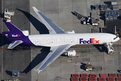 Fedex McDonnell Douglas MD-11(F) N593FE (Mark Harris photography) Tags: spotting lax la canon aviation