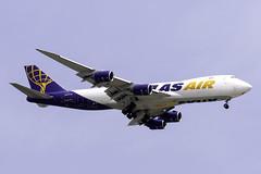 N856GT B784F ATLAS AIR YBBN (Sierra Delta Aviation) Tags: atlas air boeing b748f brisbane airport ybbn n856gt
