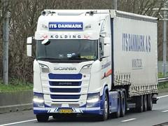 Scania S650 highline from ITS Danmark Holland. (capelleaandenijssel) Tags: cn27915 truck trailer lorry camion lkw dk denmark kolding