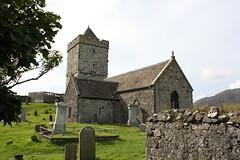 Isle of Harris: St. Clement´s Church - Tùr Chliamhainn und Friedhof in Rodel - Roghadal (Helgoland01) Tags: schottland scotland kirche church harris outerhebrides friedhof cemetary westernisles uk rodel roghadal alba macleod