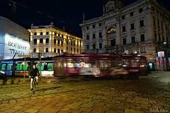 Piazza Cordusio . Milano (SALVO 1) Tags: milano piazza cordusio tram