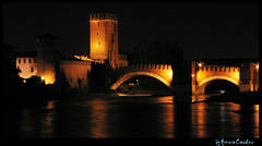 Verona (tonino.cozzolino) Tags: verona fiume adige ponte notte
