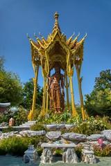 Mondop of Bodhisattva Avalokitesavara (Kuan-Yin) in Muang Boran (Ancient City) in Samut Phrakan, Thailand (UweBKK (α 77 on )) Tags: muang mueang boran ancient city siam open air museum garden park outdoors education recreation culture tradition samut phrakan province bangkok thailand southeast asia sony alpha 77 slt dslr mondop bodhisattva avalokitesavara kuanyin statue sculpture sala