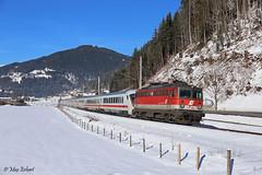 ÖBB 1142 685 | EC 217 | Eben i. Pongau (A) (m-r.hart) Tags: 1142 öbb db wendezug wintervorspann winter eben pongau eurocity ec salzburg ennstal austria österreich railway train eisenbahn personenzug reisezug schnee snow