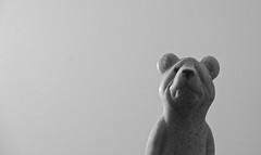 Stone Bear (ricko) Tags: bear stone figurine 11366 2020 minimal