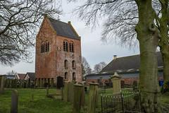 Kerktoren van Zuidbroek (Jeroen Hillenga) Tags: toren tower zuidbroek kerk kerkhof