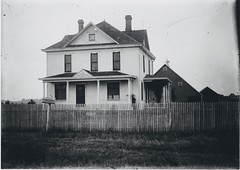 1900 or so - George H Rader farm house