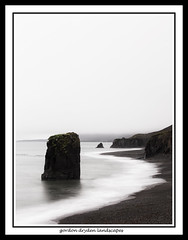 Starmýri sea-stack at Fauskasandur (gordon dryden) Tags: iceland seastack