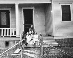 1903 or so - John Graverson farm house family